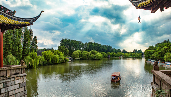 The ancient city of Yangzhou